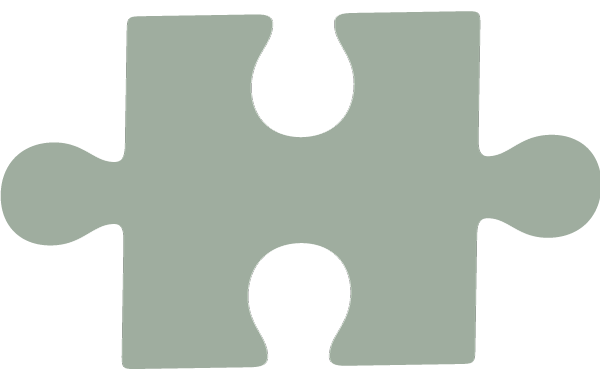 puzzle piece in grey