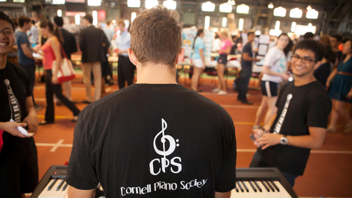 Cornell Piano Society at The 2014 Club Fest