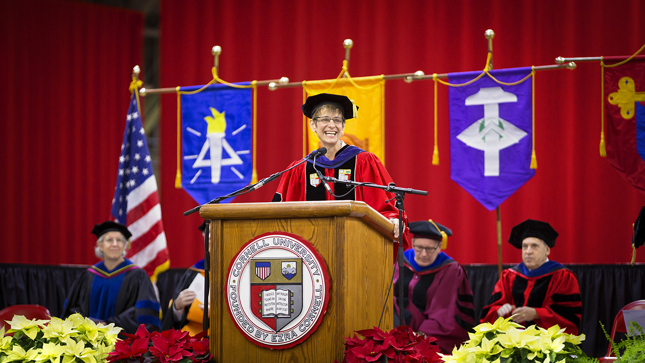 President Elizabeth Garrett | Winter Graduation Ceremony